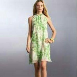 100% silk Banana Republic dress TALL Large